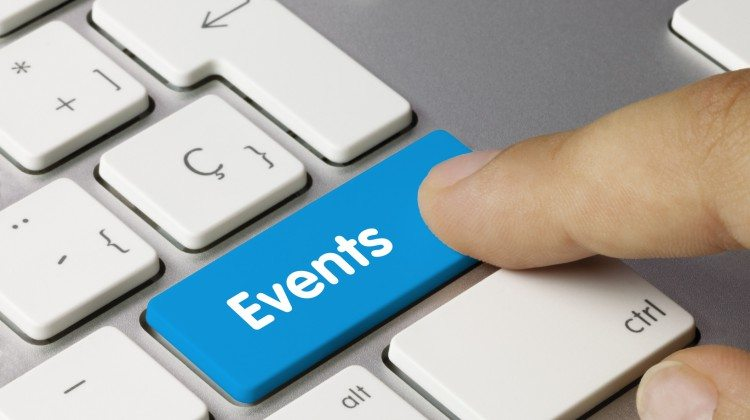 Events keyboard key finger