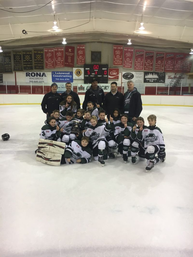 Rotary Club Atoms Capture MPS title! - My Parry Sound Now