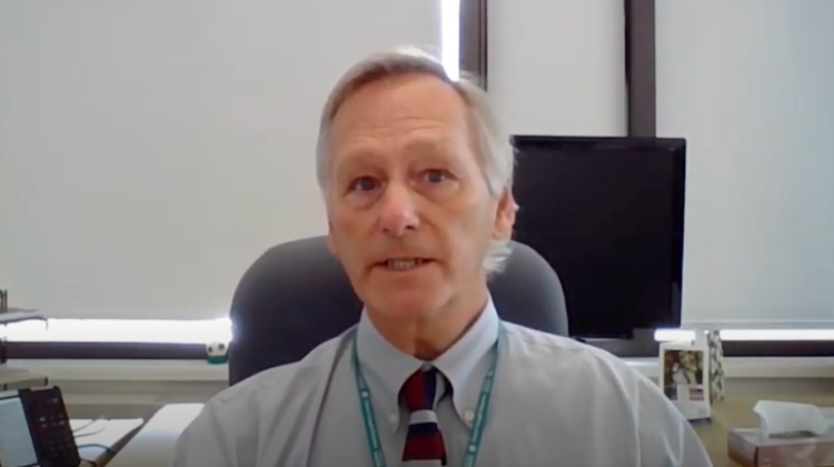 Dr. Jim Chirico, Medical Officer of Health for the North Bay Parry Sound District Health Unit. (Photo screenshot via North Bay Parry Sound District Health Unit, YouTube)